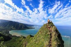 Spitze des Berges Lizenzfreie Stockfotografie