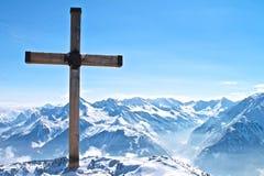 Spitze des Berges lizenzfreies stockfoto