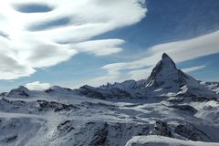 Spitze des Berges Lizenzfreies Stockbild