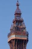 Spitze des Blackpool-Kontrollturms Lizenzfreie Stockbilder