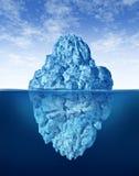 Spitze des Eisbergs Lizenzfreie Stockfotos