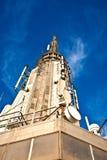 Spitze des Empire State Building Stockbilder