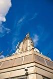 Spitze des Empire State Building Stockbild