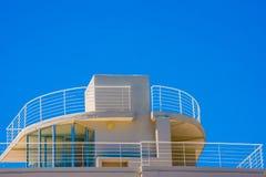Spitze des Gebäudes Stockfoto
