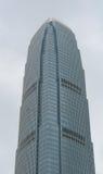 Spitze des hohen Gebäudes am Geschäftsgebiet Stockbilder