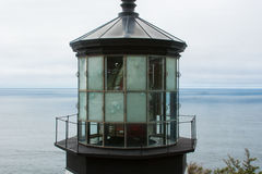 Spitze des Leuchtturmes Stockfotografie