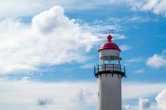 Spitze des Leuchtturmes, die Niederlande Stockbild