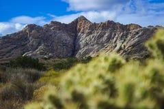 Spitze im Schnee-Schlucht-Nationalpark Stockbilder
