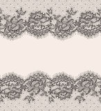 spitze Nahtloses Muster stock abbildung