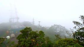 Spitze Puerto Rico Cerros Punta stock video footage
