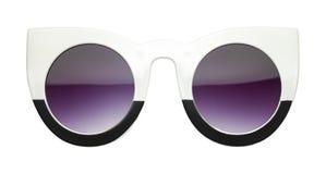 Spitze Retro- Sonnenbrillen Front View lizenzfreie stockbilder