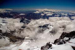 Spitze von Aconcagua Lizenzfreies Stockbild