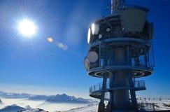 Spitze von Rigi Alpe in der Schweiz, Europa Lizenzfreie Stockfotos