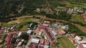 Spitze von Borneo stock video