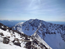 Spitze von Borus Ridge Stockfoto