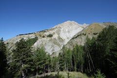 Spitze von bure in den Alpen lizenzfreie stockfotos
