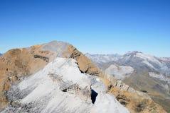 Spitze von der LeCasque in Gavarnie in Frankreich Stockfoto