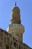 Spitze von Sidna Ali Mosque Minaret Stockfotografie