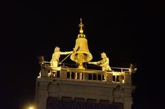 Spitze von St Mark Uhr Stockfotografie