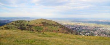 Spitze von theMalvern Hügeln Lizenzfreies Stockfoto