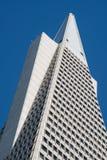 Spitze von Transamerica-Pyramide Lizenzfreie Stockfotografie