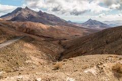 Spitzen auf Fuerteventura Stockfotos