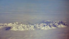Spitzen der tatra Berge in den Wolken Lizenzfreie Stockbilder