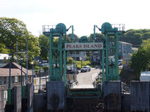 Spitzen-Insel-Pier Lizenzfreies Stockfoto