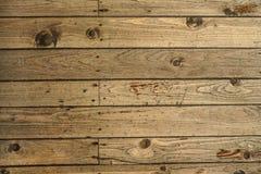 Spitzenabstiegansicht - alte Bretterbodenbeschaffenheit, Fliesen sicherte mit Nägeln lizenzfreies stockbild