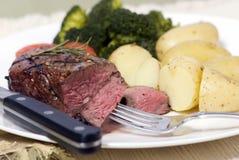 Spitzenlendenstück-Steak Stockfotografie