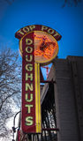 Spitzentopf-Donuts Seattle Lizenzfreie Stockbilder
