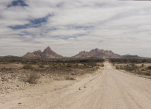 Spitzkoppe山-纳米比亚 库存照片