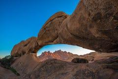 Spitzkoppe, μοναδικός σχηματισμός βράχου σε Damaraland, Ναμίμπια στοκ φωτογραφία με δικαίωμα ελεύθερης χρήσης