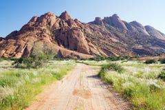 Spitzkoppe en Namibie photographie stock libre de droits