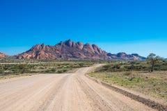 Spitzkoppe, formación de roca en Damaraland, Namibia foto de archivo