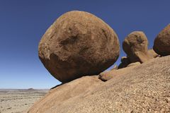 Spitzkoppe  Granite Marbles  Namibia Stock Images