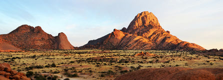 Spitzkoppe. A group of bald granite peaks, Namibia Stock Image