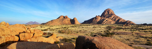Spitzkoppe. A group of bald granite peaks, Namibia Stock Photography