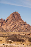 The Spitzkoppe Mountain in Namibia Stock Images