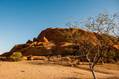 Spitzkoppe, Namibië, Afrika Royalty-vrije Stock Foto