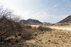 Spitzkoppe in Namibia lizenzfreie stockfotos