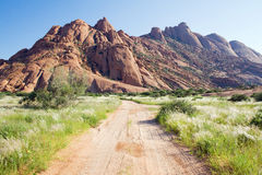 Spitzkoppe in Namibia. Southern Africa Royalty Free Stock Photography