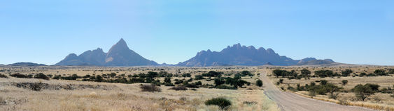 Spitzkoppe panorama 5 Stock Photography