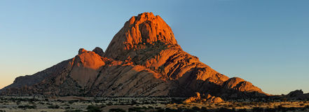 Spitzkoppe panorama 6 Royalty Free Stock Images