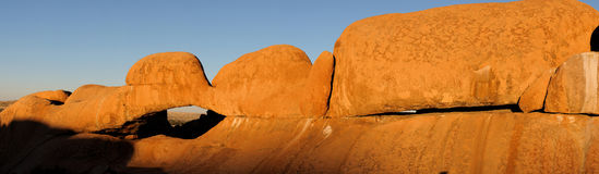 Spitzkoppe panorama 7 Royalty Free Stock Photo