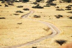 Spitzkoppe panorama, Namibia Royalty Free Stock Photo