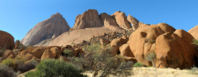 Spitzkoppe panorama 10 Stock Images