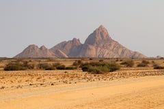 Spitzkoppe Spitzkuppe - Namibia África imagenes de archivo