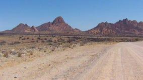 Spitzkoppe, unikalna rockowa formacja w Damaraland, Namibia zbiory wideo