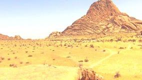 Spitzkoppe, unikalna rockowa formacja w Damaraland, Namibia zdjęcie wideo